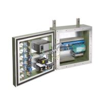 ASM flameproof control station with K-System IS barriers installed internally