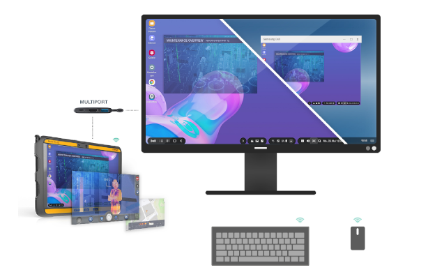 Samsung DeX mode