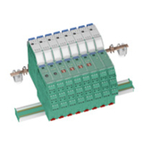 Plug-in version - surge protection barrier