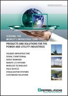 Products and Solutions for the Power and Utility