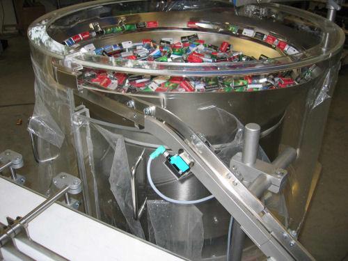 反射板型光电传感器用于巧克力检测