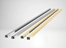 New SLCS and SLCT series multiple-beam safety light barriers