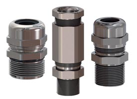 Type 4X rated cable glands