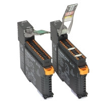 Relay and electronic output versions have the same housing, bringing a cleaner look, ease module mounting and determine cabinet space requirements.