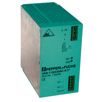 Pepperl+Fuchs power supplies meet PELV requirements