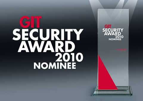 GIT Security Award 2010 Nominee