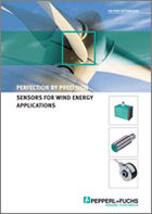 Perfection by Precision - Sensor solutions for Wind Energy