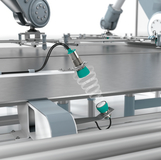 Double sheet sensors at material feeds