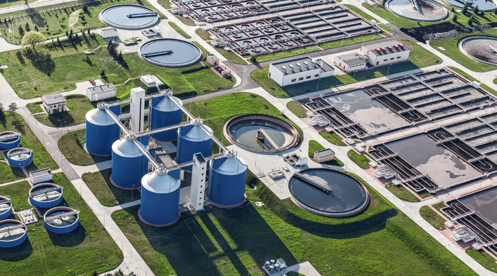 Water Inlet in Wastewater Treatment Plants | Signal ...
