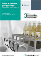 Ultrasonic sensor uc18gs brochure
