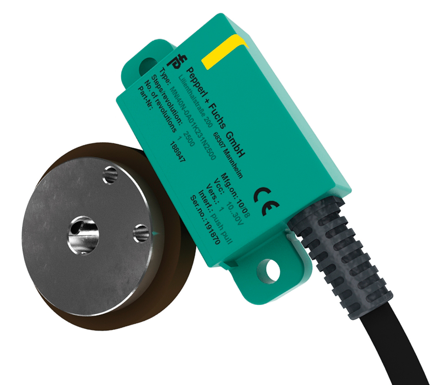 Intelligent, fast, robust – The magnetic incremental rotary encoder MNI40