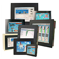 VisuNet industrial monitors