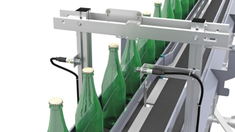 Bottle Counting With Ultrasonic Sensors | Pepperl+Fuchs