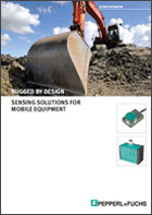 Rugged by design - Sensing solutions for Mobile Equipment