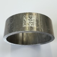 Direct Part Marking code on metal