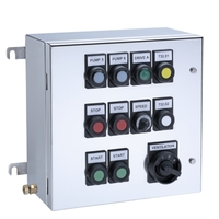 Ex e control stations can contain more than 50 operating elements.