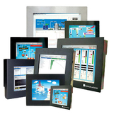 Industrial Monitors with direct connection to the PC for use in hazardous areas and GMP conditions.