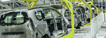 production line in automotive industry