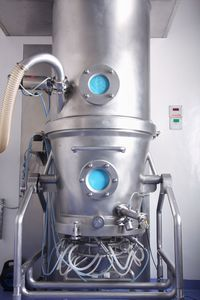 Smooth processes in fluidized bed systems due to remote I/O systems.