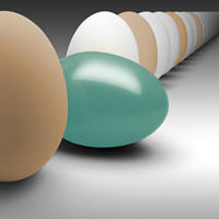 Probability calculation, riddle, brain teaser, e-news, solution, eggs