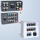 Flexible operator elements for Ex e control stations