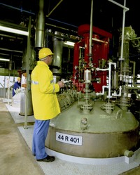 Specialty chemical applications include batch processing, blending and storage