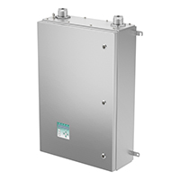 The automatic 6100 series system can purge enclosures that are larger than 12.2 m³ (450 ft³)