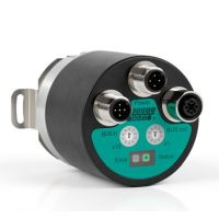 The absolute rotary encoder ENA58IL offers a new interface variety.