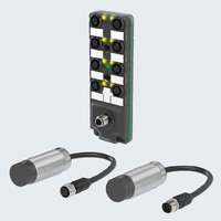 WIS transmitters can be combined with 8-socket junction blocks for efficient and space-saving solutions.
