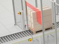 Multiple-Beam Light Barriers create a two-dimensional detection zone that protects users