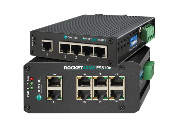 Pepperl+Fuchs Comtrol RocketLinx Ethernet Managed and Unmaged Switches