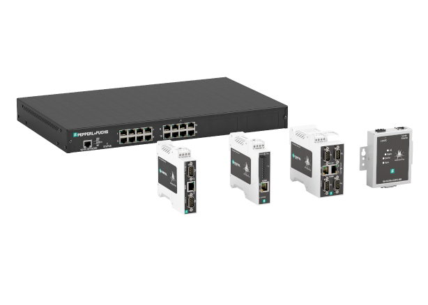 Pepperl+Fuchs Comtrol Serial to Ethernet Gateways (DeviceMaster®)