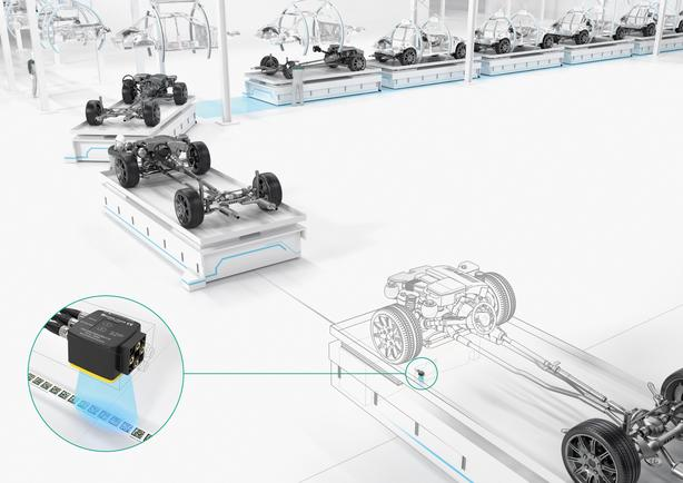Automated guided vehicles in material handling.