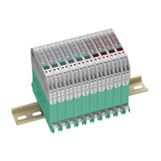 Surge protection barrier - DIN rail mounted