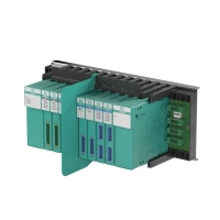 LB Remote I/O System connects sensors and actuators to the DCS via PROFIBUS.